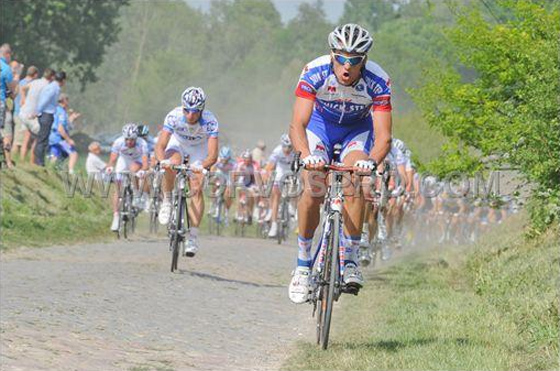 Styby in the break with Paolini and Pozzato