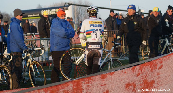 Superprestige weg na val in Gieten