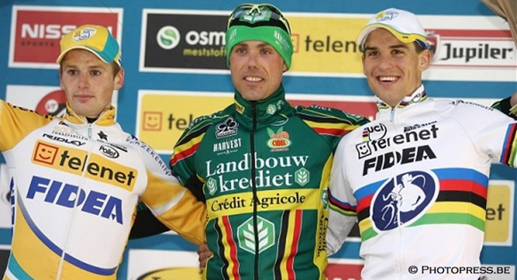 Third place in the Superprestige