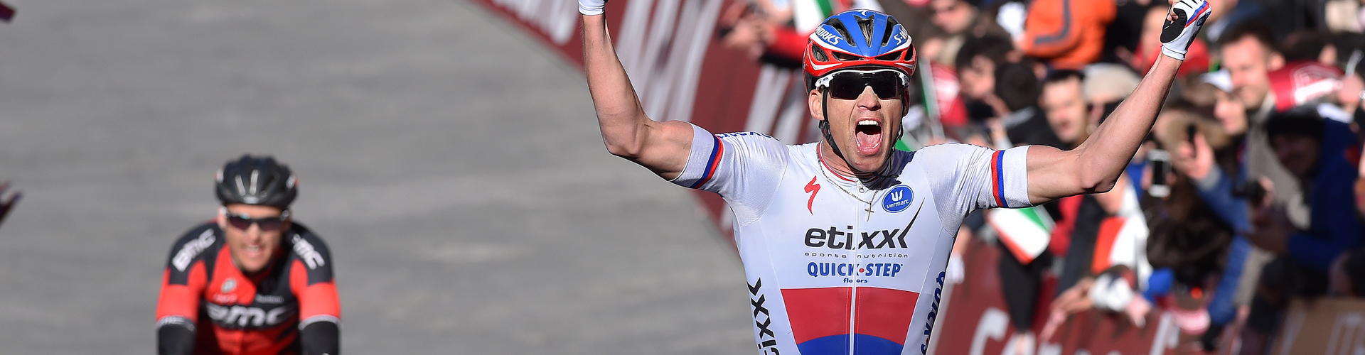 Victory for Zdenek in the Strade Bianche!!